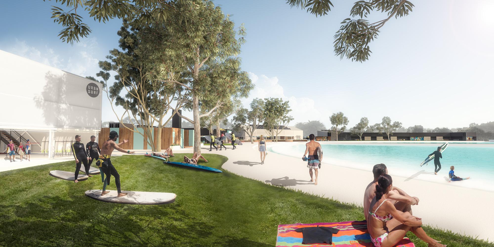 inland surf park Melbourne