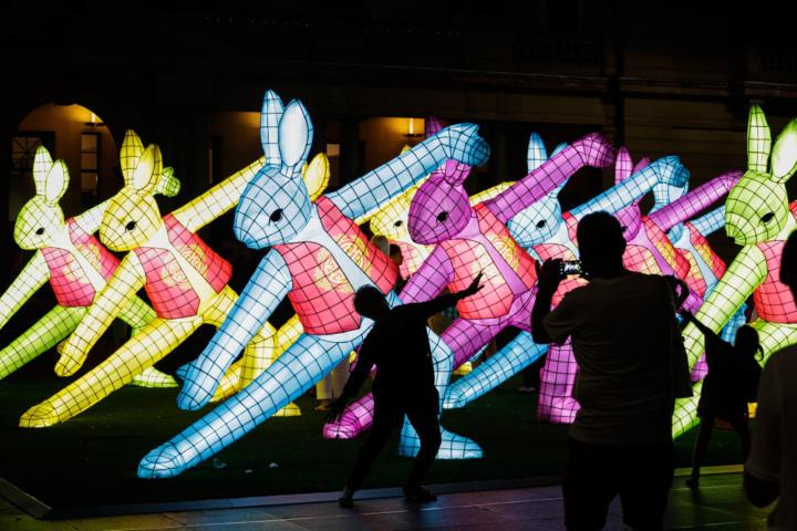 rabbit 720x480 - Trải nghiệm lễ hội Tết Âm lịch cho người Việt tại trung tâm Thành phố Sydney