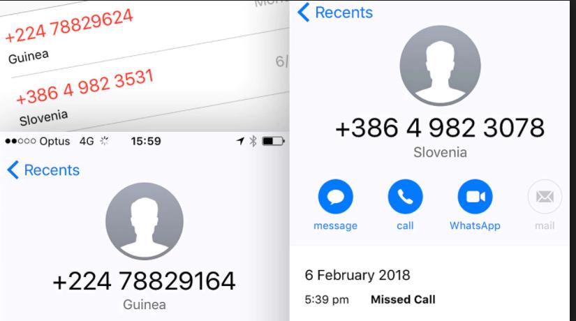 """Capture - Úc: Cẩn trọng với thủ đoạn gian lận mới, """"cuộc gọi nhỡ"""" móc túi người dùng điện thoại"""