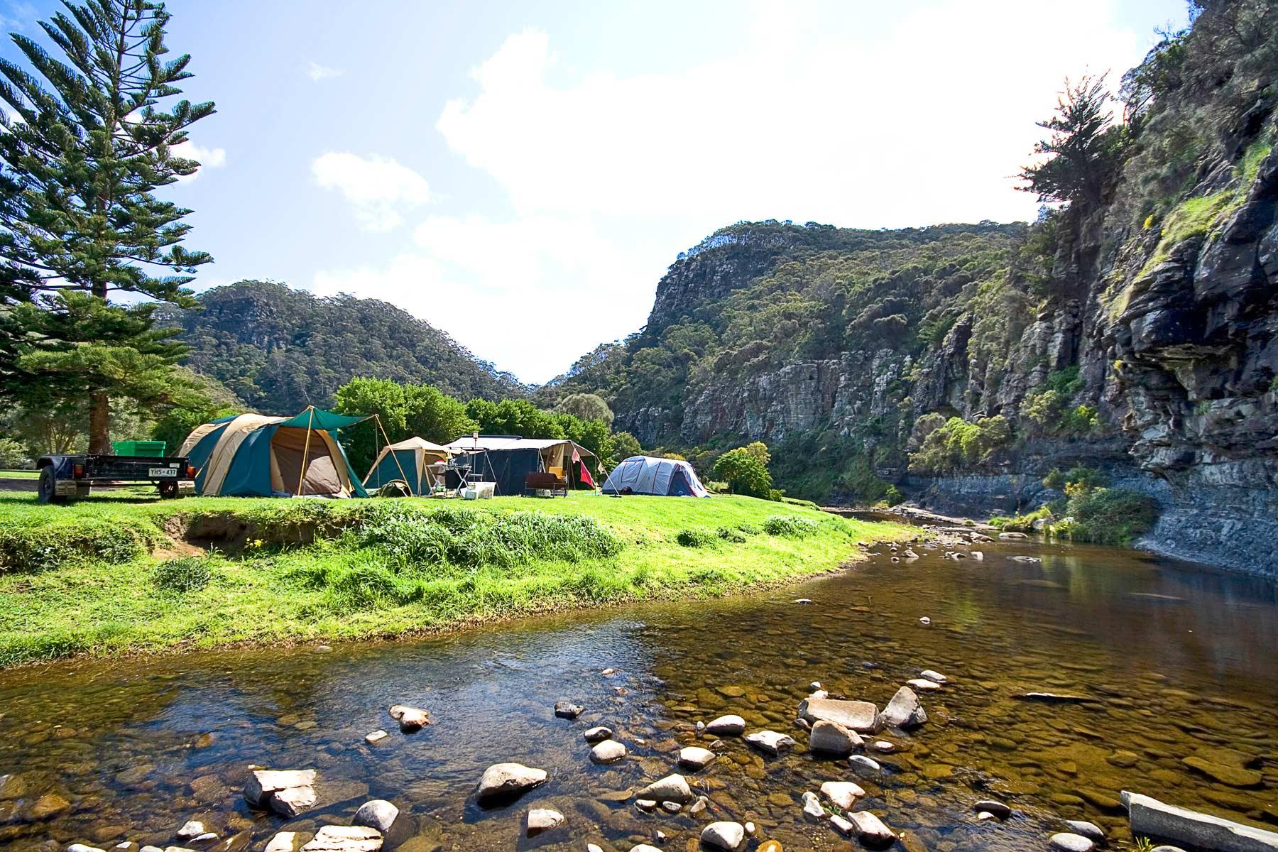 Victorian campsites near Melbourne