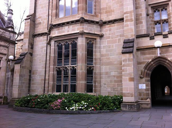 mua thu uc day lang man o truong dai hoc melbourne 2 - Mùa Thu Úc đầy lãng mạn ở trường Đại học Melbourne