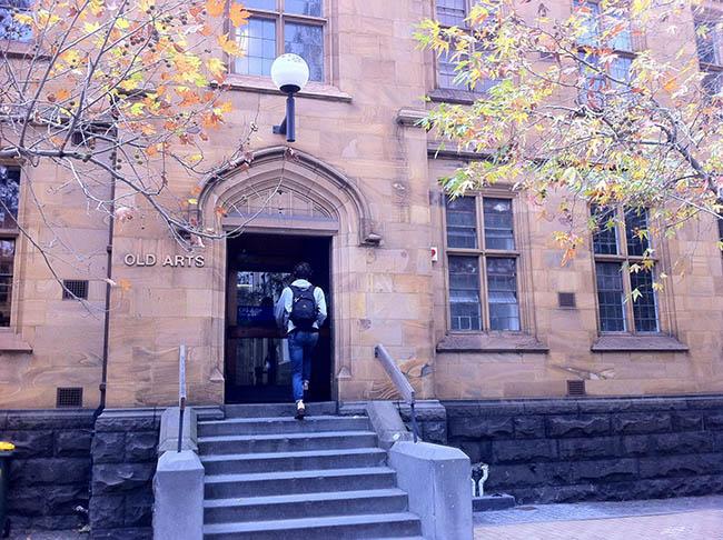 mua thu uc day lang man o truong dai hoc melbourne 9 - Mùa Thu Úc đầy lãng mạn ở trường Đại học Melbourne