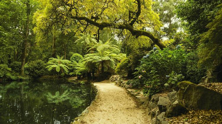 secret gardens in Melbourne