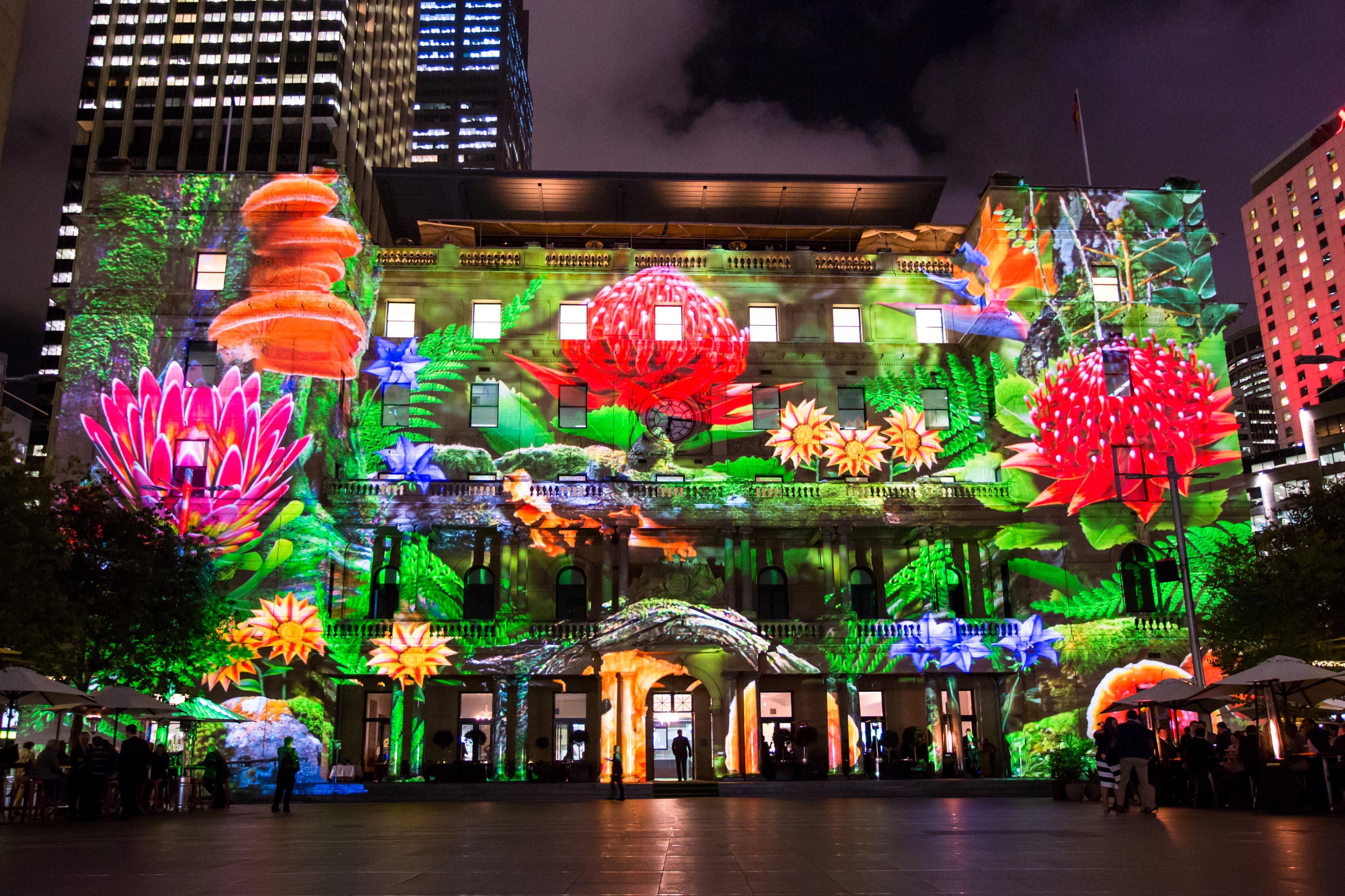 Image result for lễ hội vivid sydney 2018