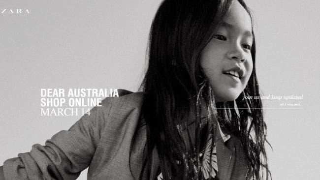 zara se ra mat truc tuyen tai uc vao ngay 14 thang 3 2 - Zara sẽ ra mắt trực tuyến tại Úc vào ngày 14 tháng 3