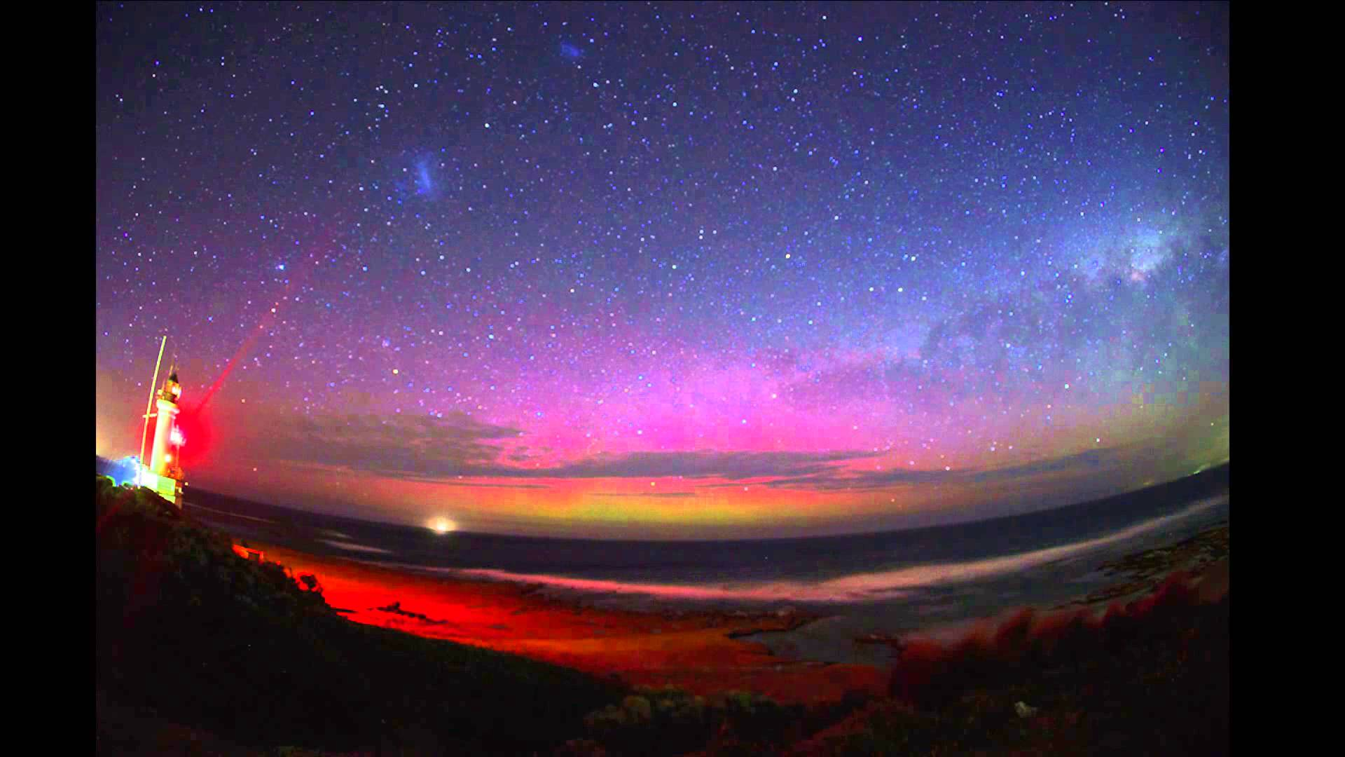 Aurora Australis from Point Lonsdale