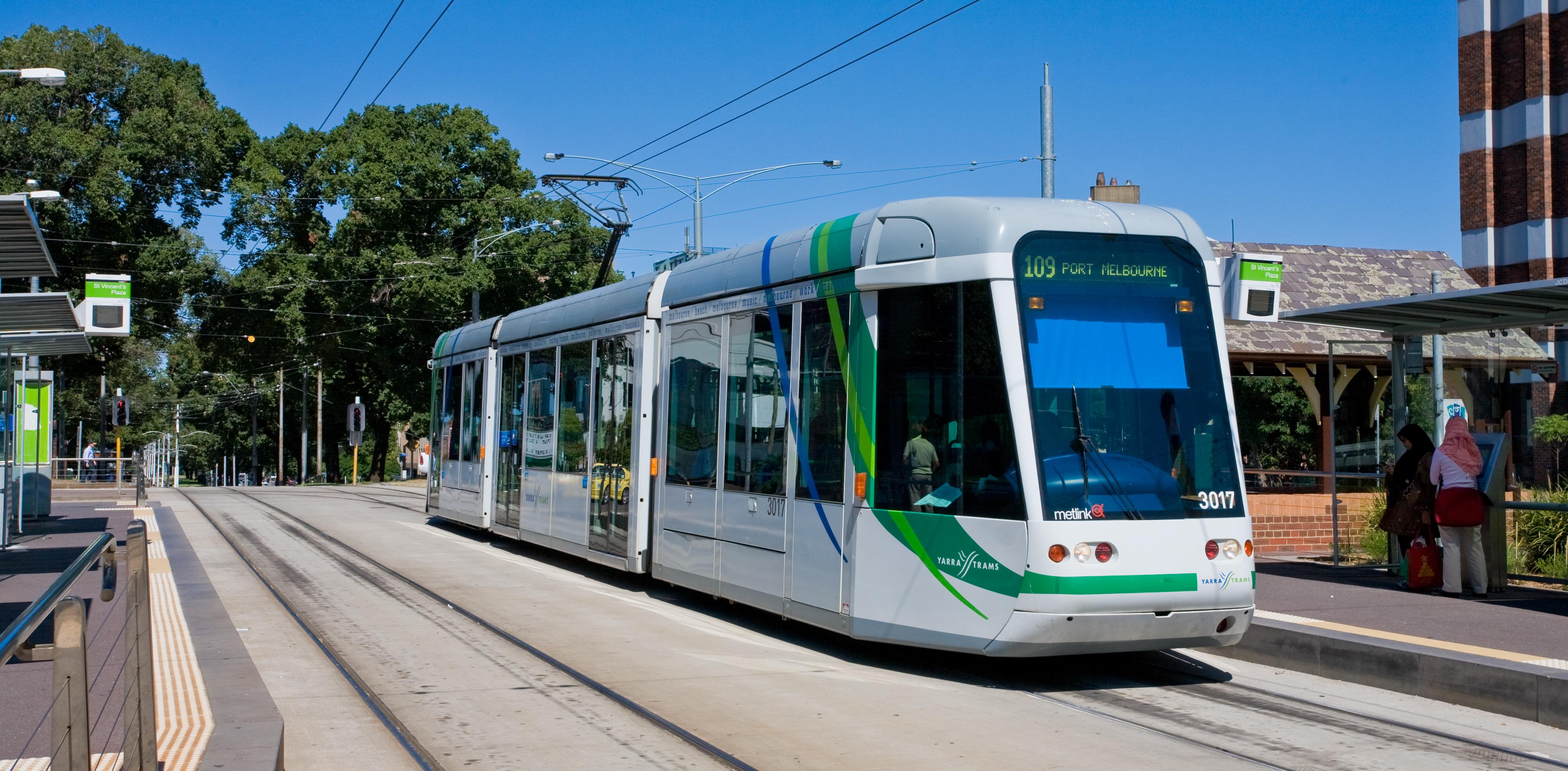 C Class Tram Melbourne   Jan 2008 - Tuyến tàu 5 tỷ đô nối liền trung tâm thành phố Melbourne tới sân bay được phê duyệt