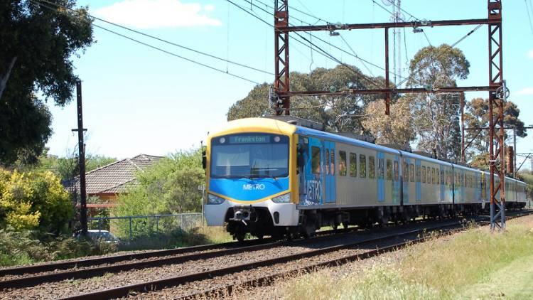 Melbourne's train