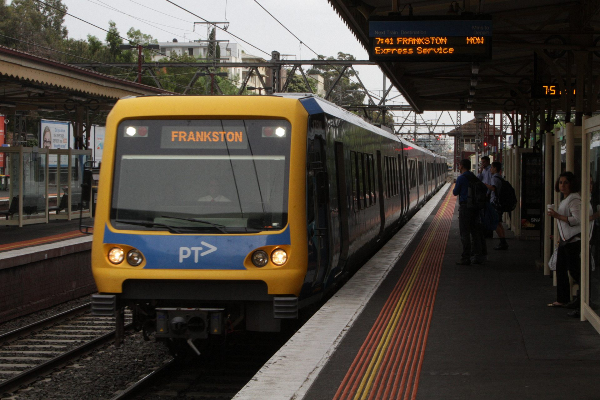 South Yarra train station