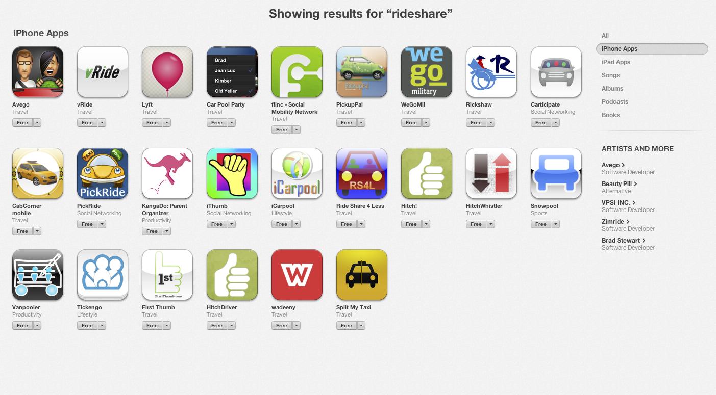 iPhone Rideshare apps - 22 mẹo tiết kiệm tiền hay ở Úc