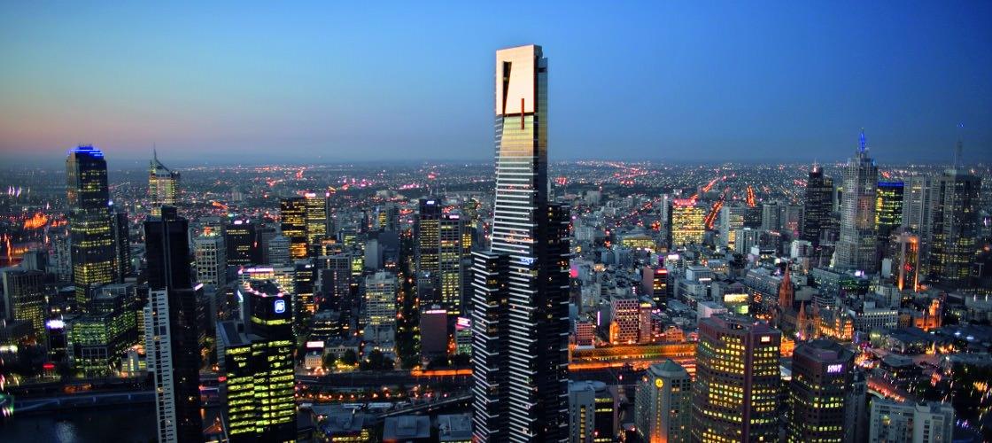 Eureka Tower - Melbourne: The Magic sẽ vượt mặt Eureka Tower trở thành toà nhà cao nhất thành phố