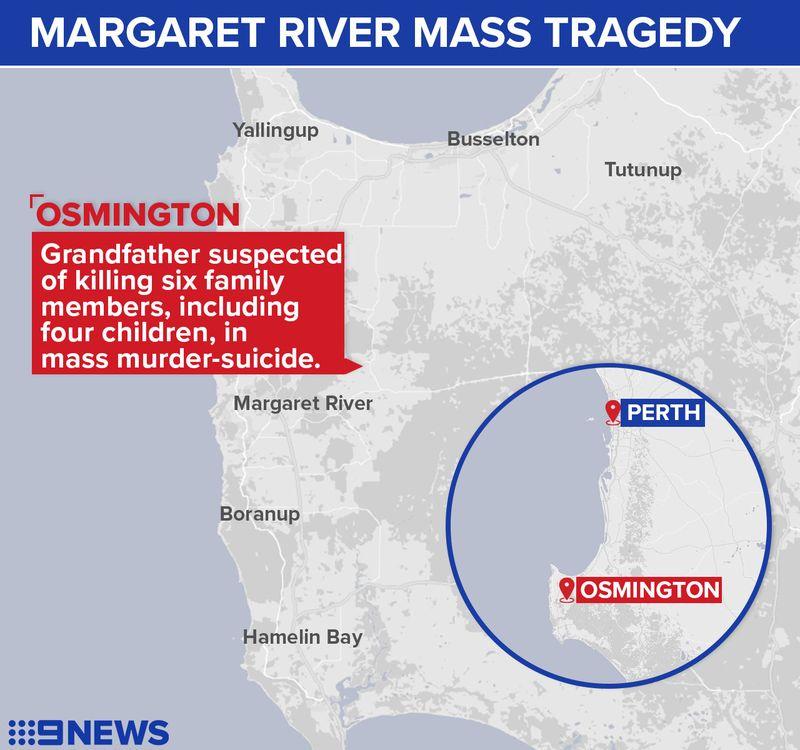 MARGARETRIVERMAP - 7 nạn nhân trong vụ tham vụ thảm sát ở Tây Úc, họ là ai?