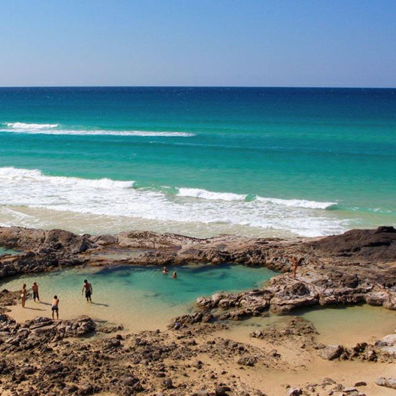 champagne pools australia