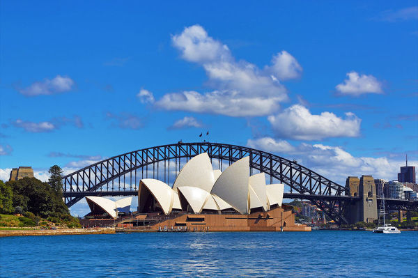 sydney opera house and harbour bridge sydney 14728559 - New South Wales hay Queensland tuyệt hơn?