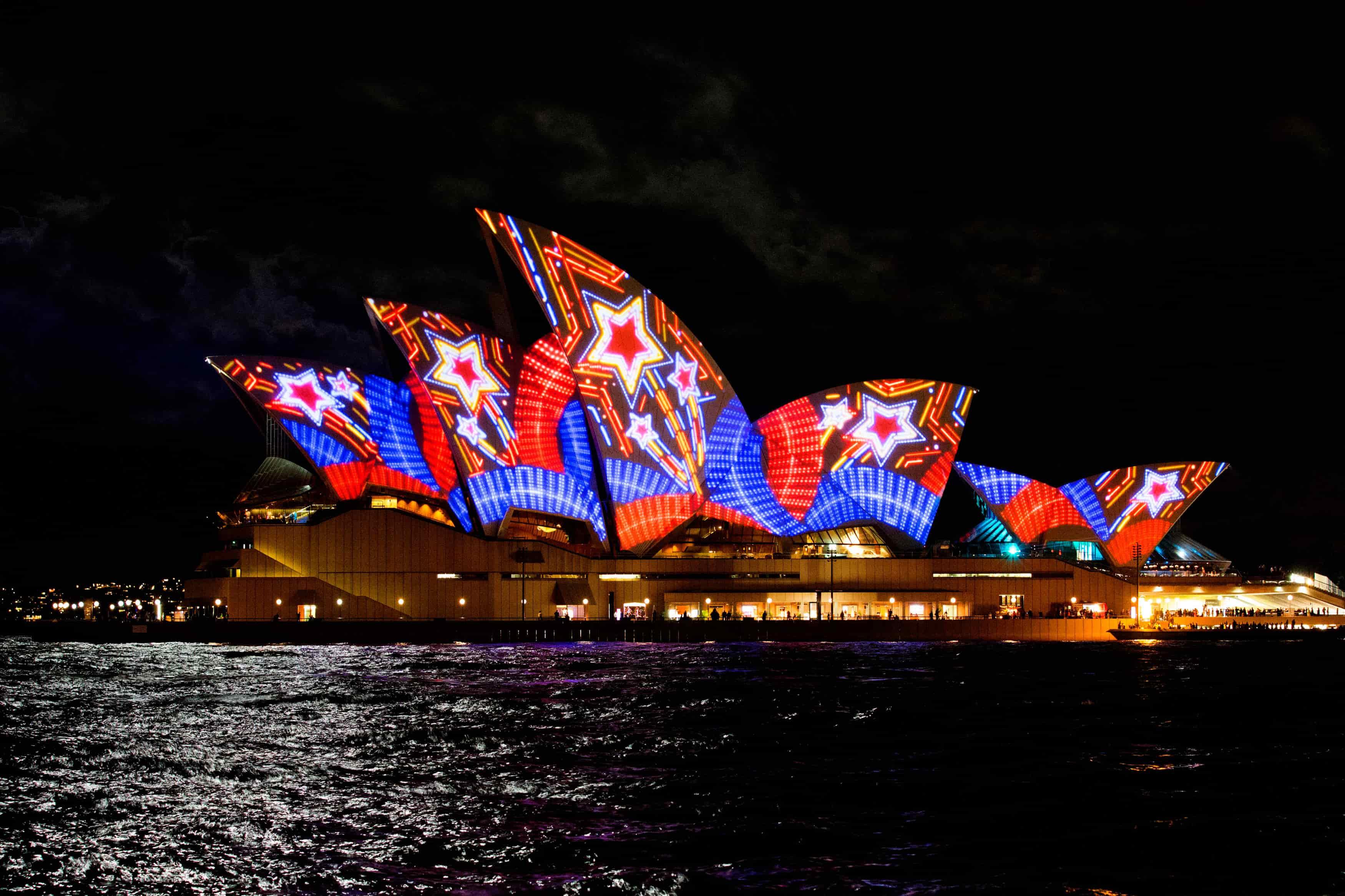vivid sydney 2018 1 - Tất tần tật mọi thứ bạn cần biết về Vivid Sydney 2018