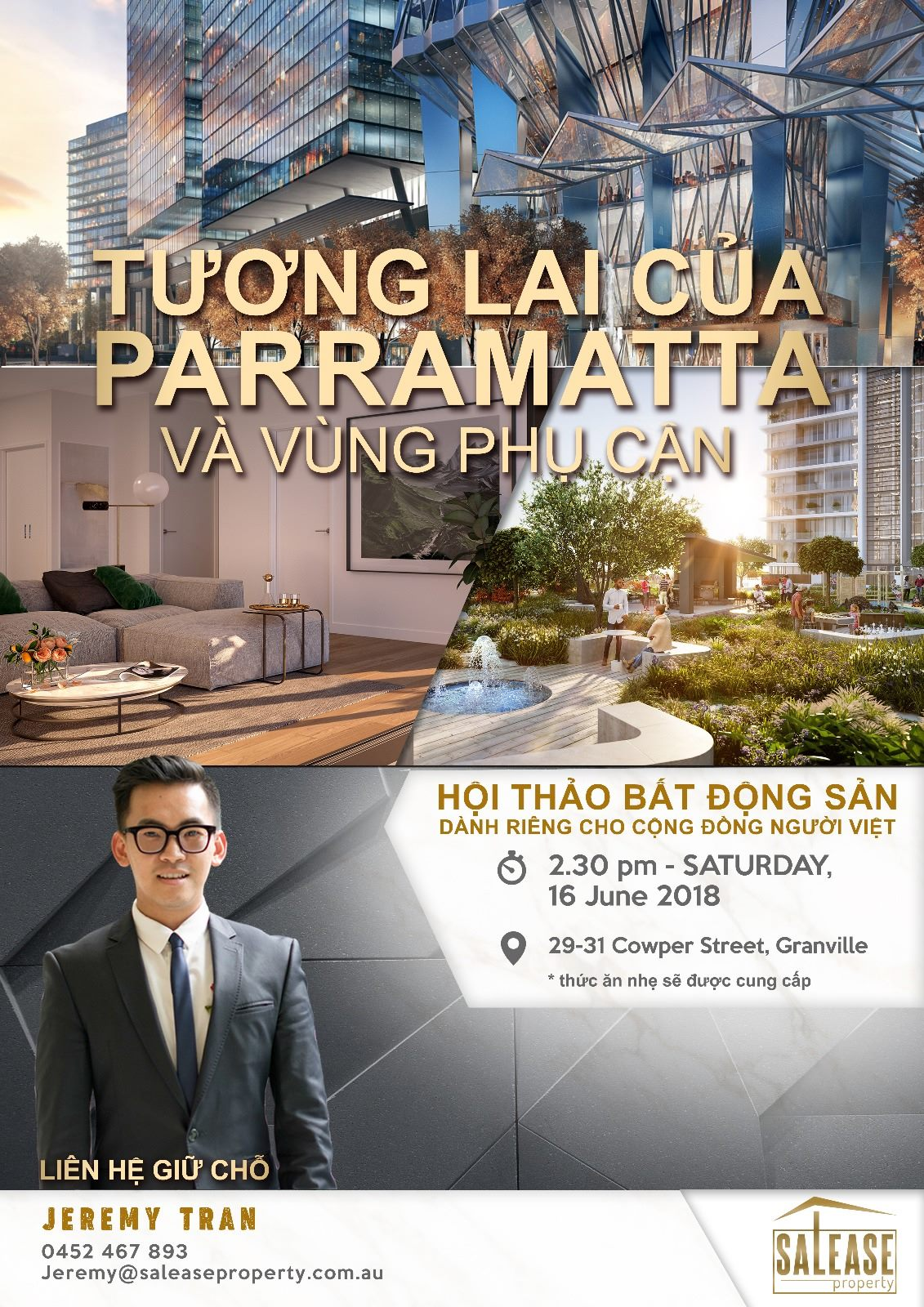 34091896 1844628912505873 2053731289386713088 o - Hội thảo bất động sản dành riêng cho người Việt tại Sydney lần 3