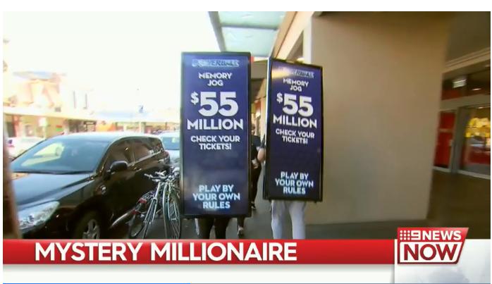 Capture - Người ấy đang ở đâu? Chủ nhân của giải Powerball $ 55 triệu đô?