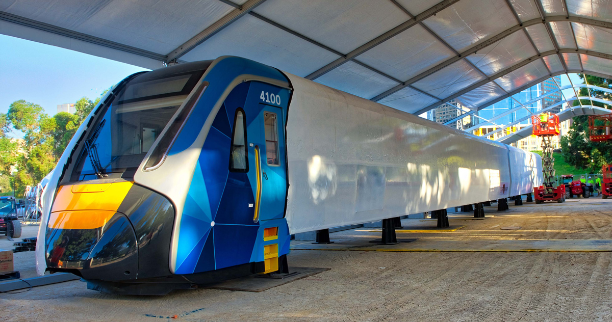 Melbourne's new high-capacity trains