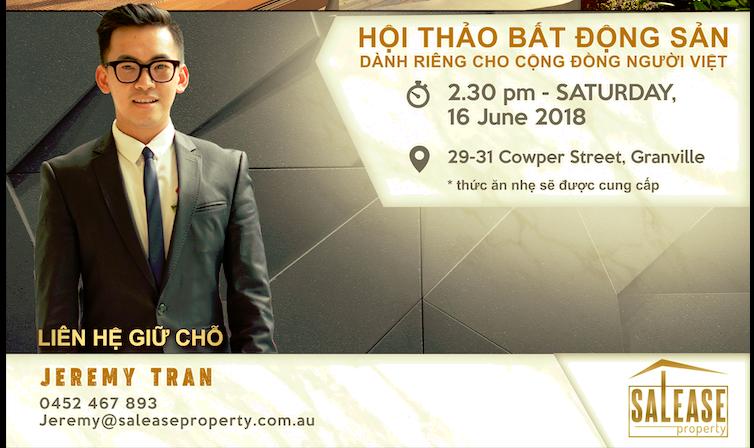Hội thảo bất động sản cho người Việt tại Sydney