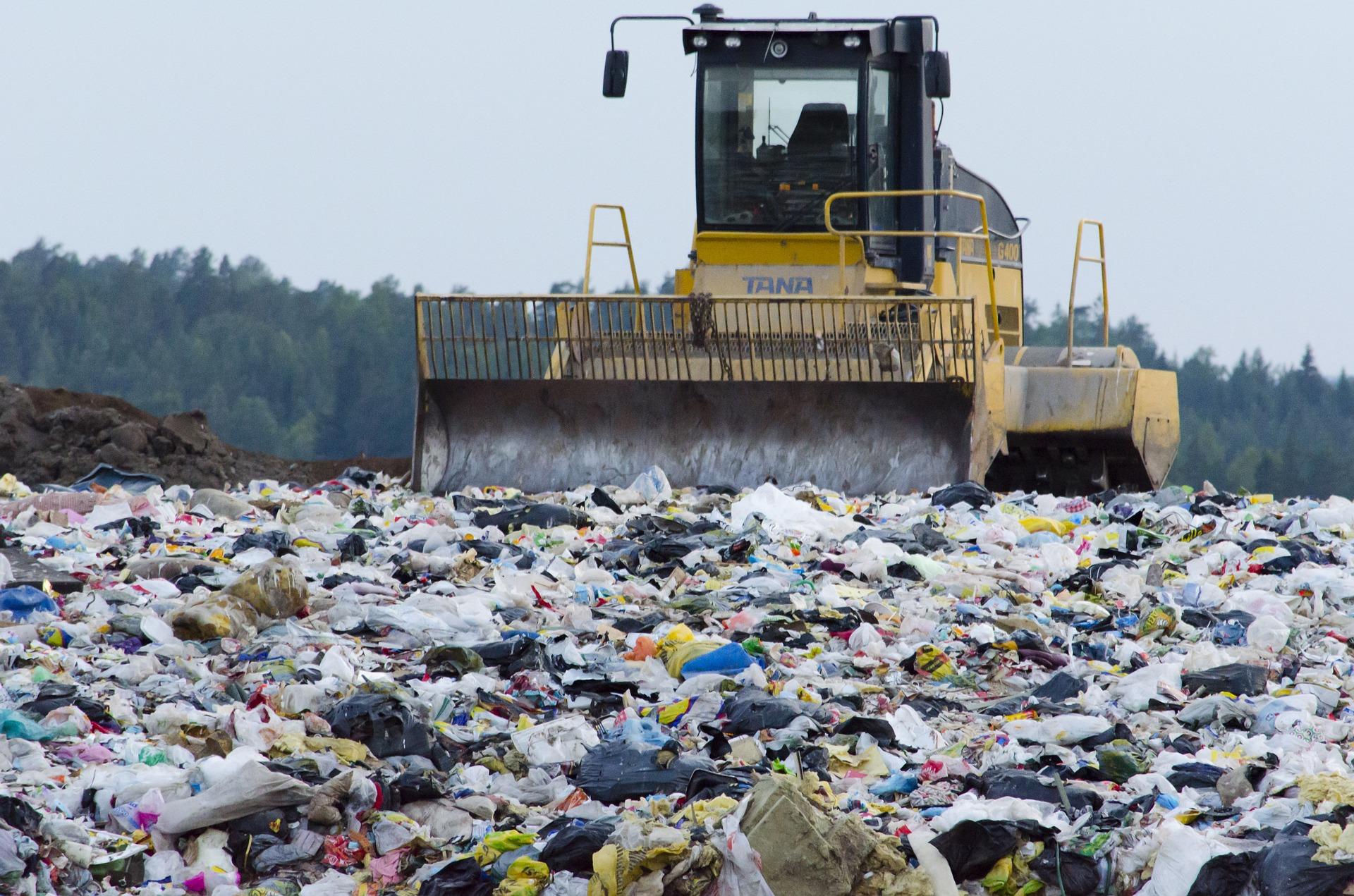 Victorian garbage landfill