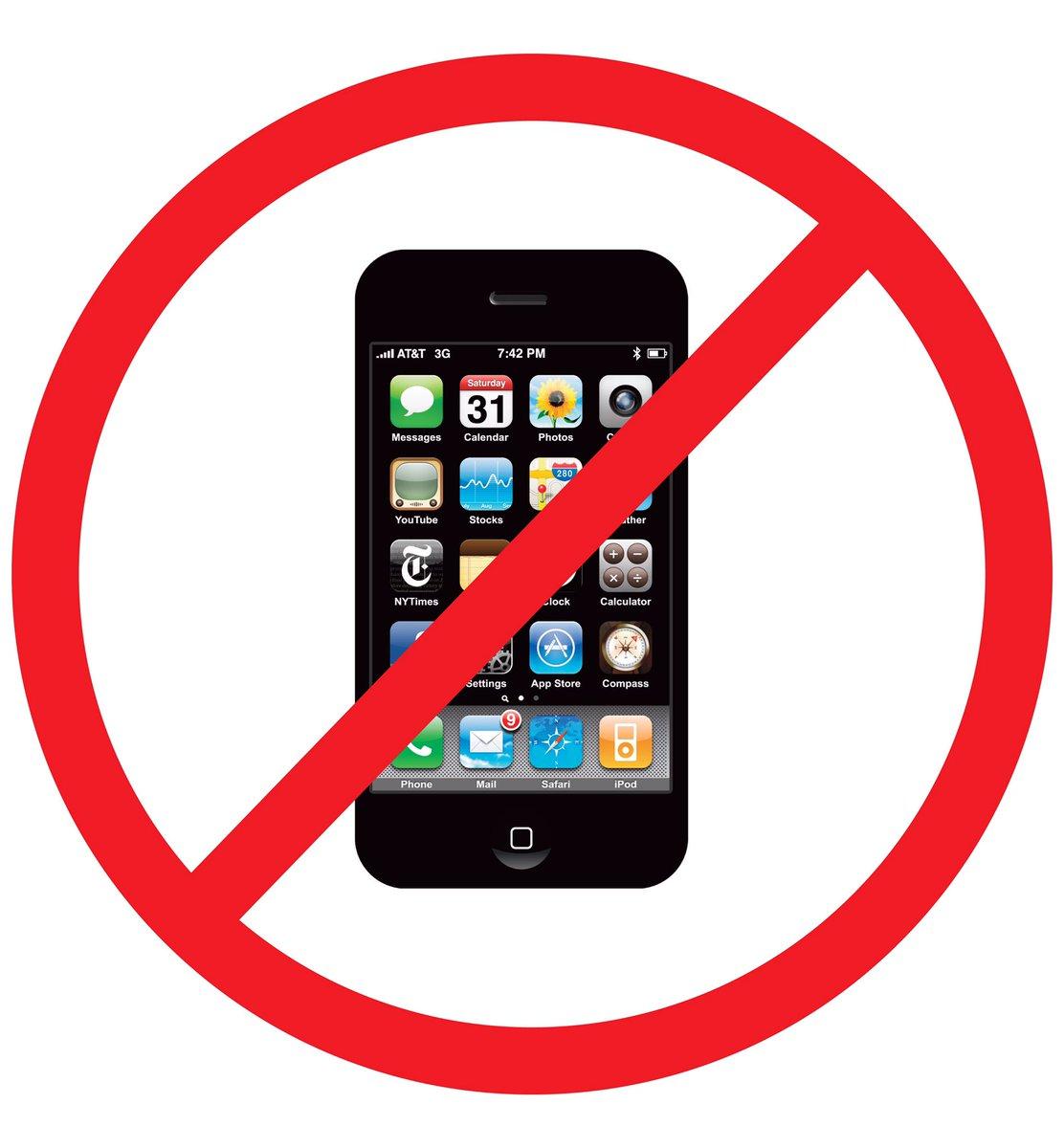 no smartphone in school