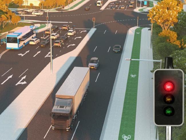 """trucks talk to traffic lights - Sydney: Công nghệ mới cho phép xe """"giao tiếp"""" với đèn giao thông, giúp giảm ùn tắc"""