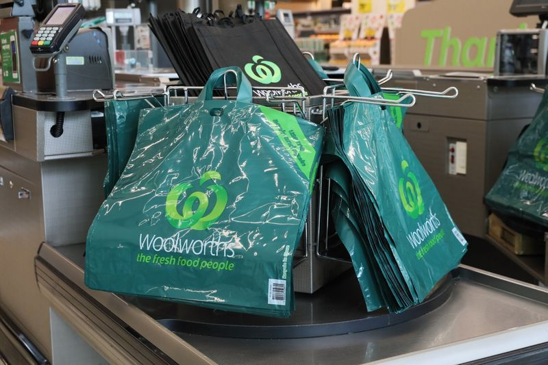 woolworths plastic bags