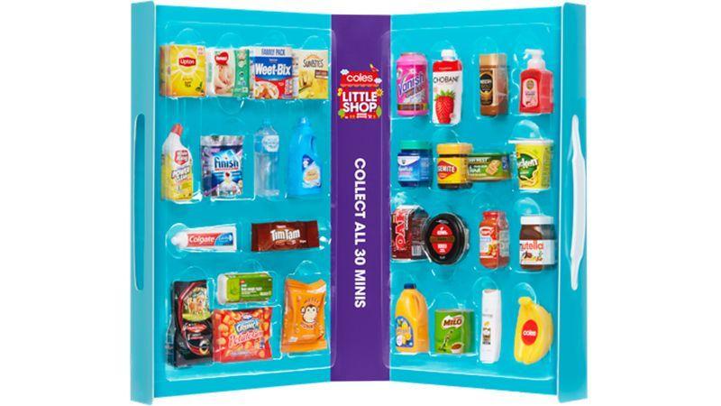 Coles defends 'Little Shop' plastic