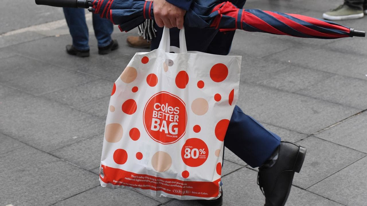 Coles reusable bag giveaway