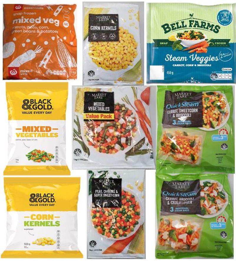 Frozen vegetables pulled from shelves - Các siêu thị đồng loạt thu hồi sản phẩm rau quả đông lạnh vì sợ nhiễm khuẩn