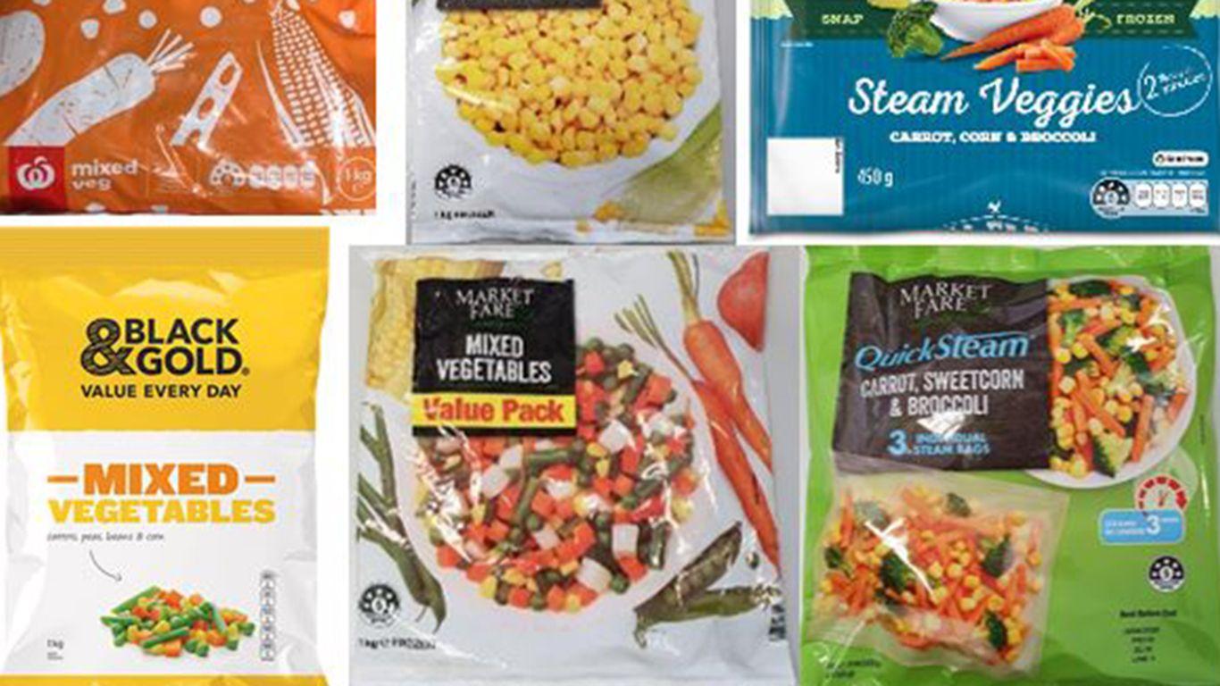 Frozen vegetables recall - Các siêu thị đồng loạt thu hồi sản phẩm rau quả đông lạnh vì sợ nhiễm khuẩn