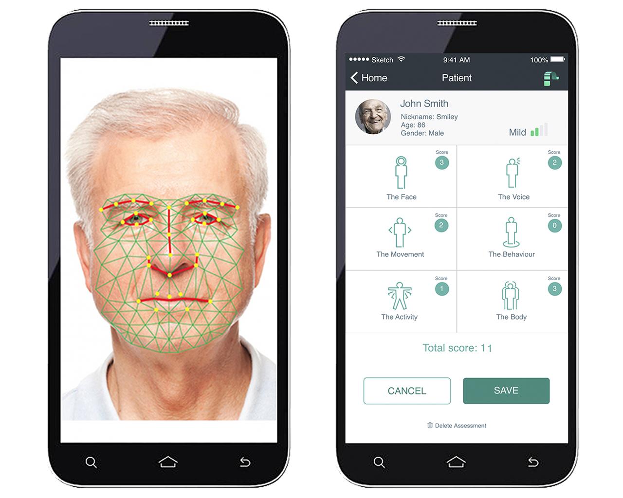 New app 'painchek'