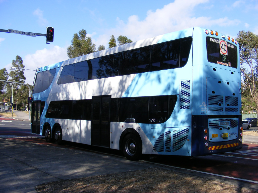 Parramatta Road Double-decker buses