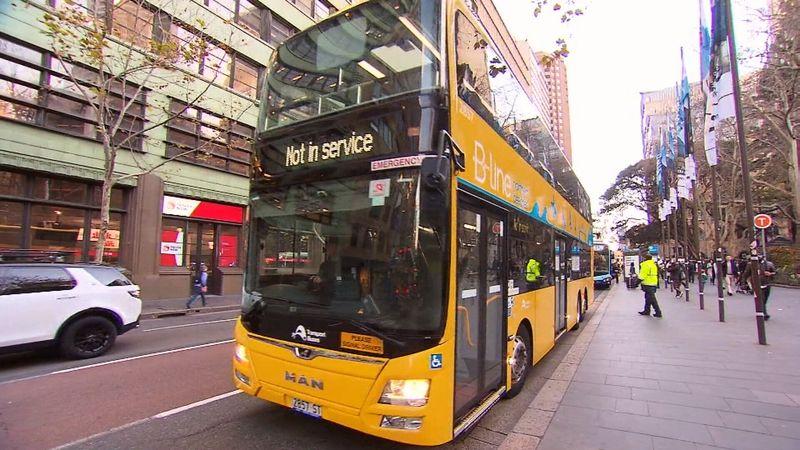 Parramatta Road Double-decker buses