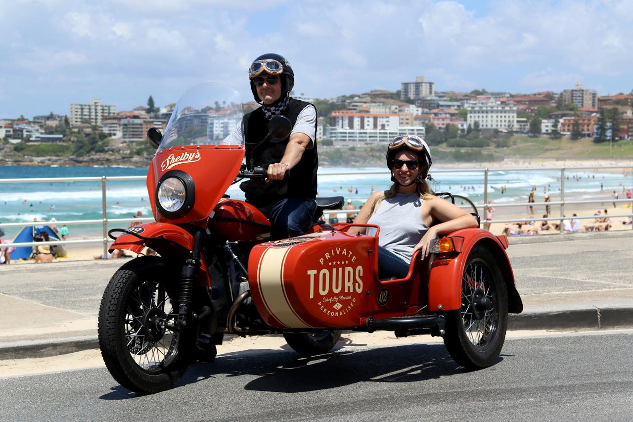 Shelby's Sidecar Tours - 10 địa điểm và tour tham quan ngắm cảnh tuyệt nhất Sydney