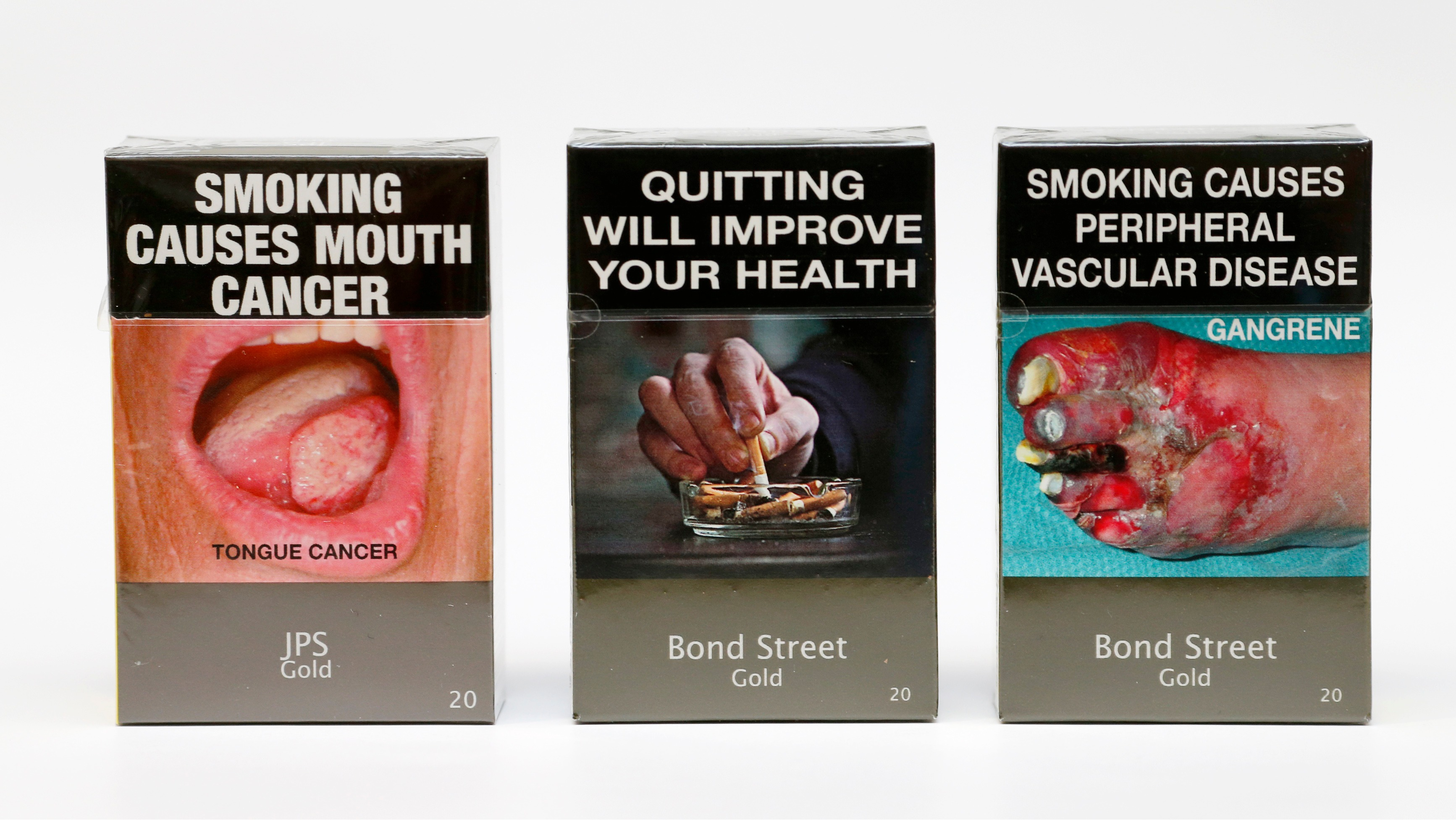 australian cigarette pack warnings