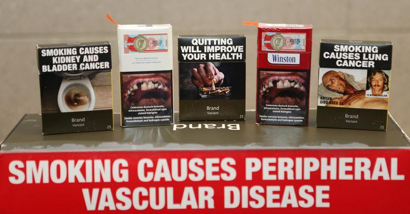 cigarette pack warnings