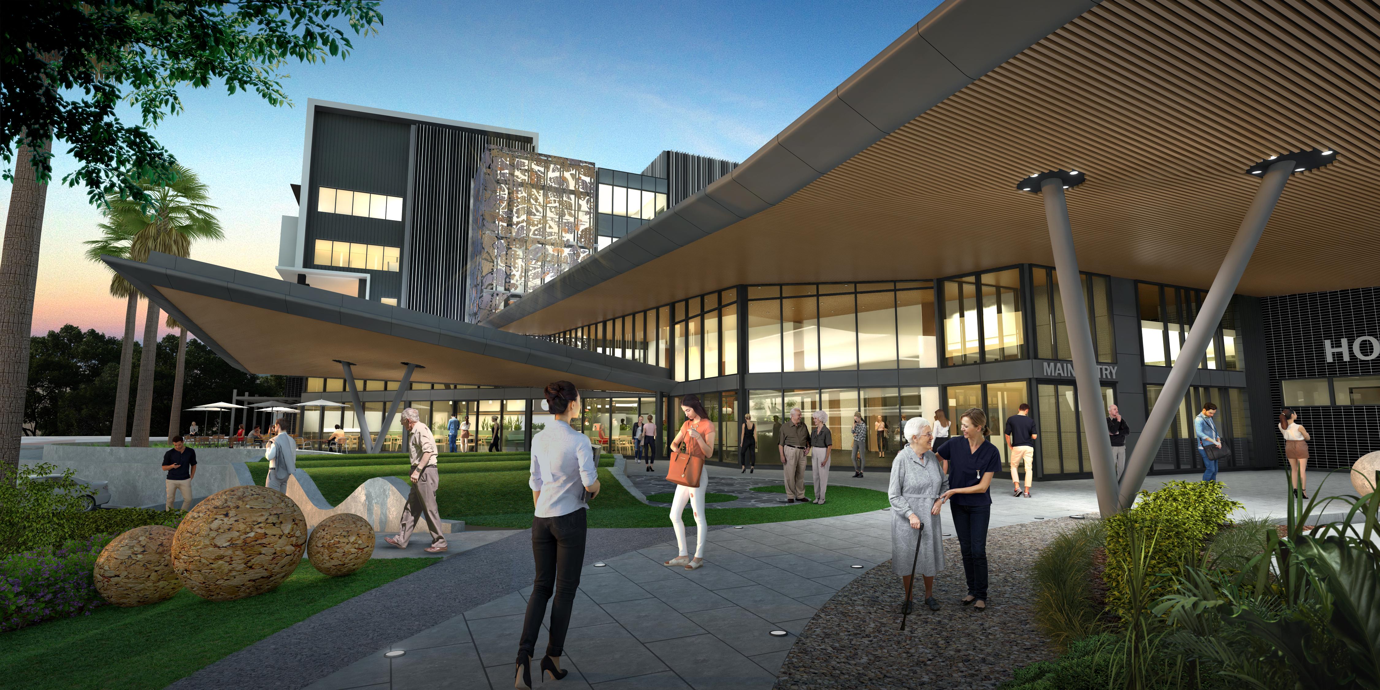 new Hornsby Hospital2 - Sydney: Bệnh viện Hornsby sắp được 'thay da đổi thịt'