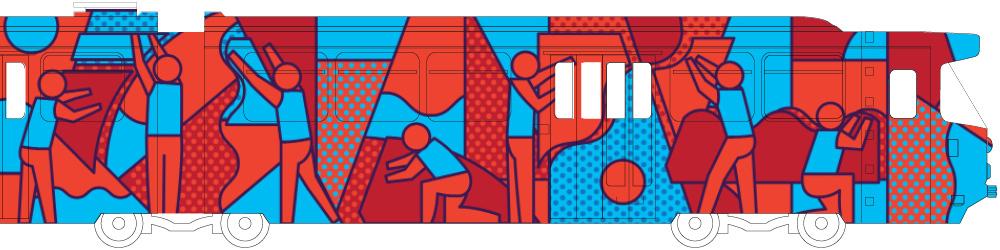 Stephen Baker Melbourne Art Trams