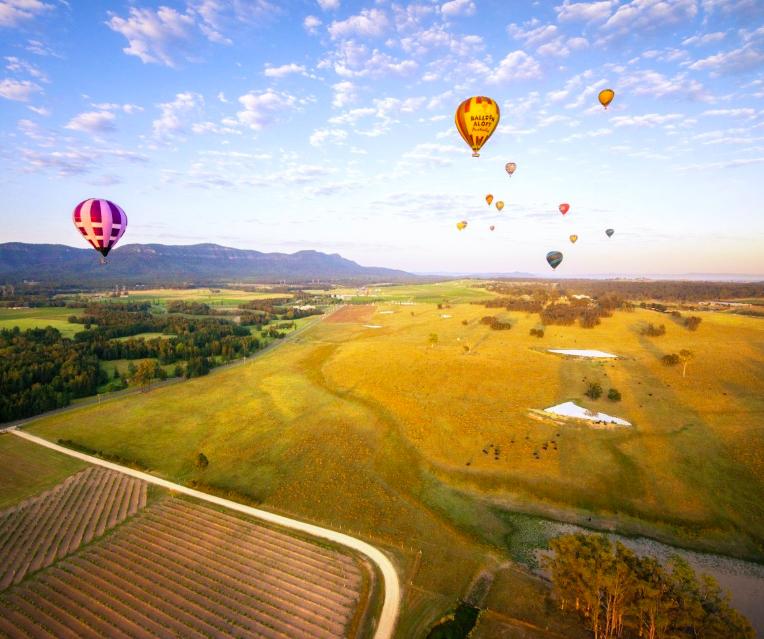 Ảnh chụp Màn hình 2018 09 08 lúc 01.04.30 - Balloon Aloft: Lễ hội khinh khí cầu ở Thung lũng Hunter Valley