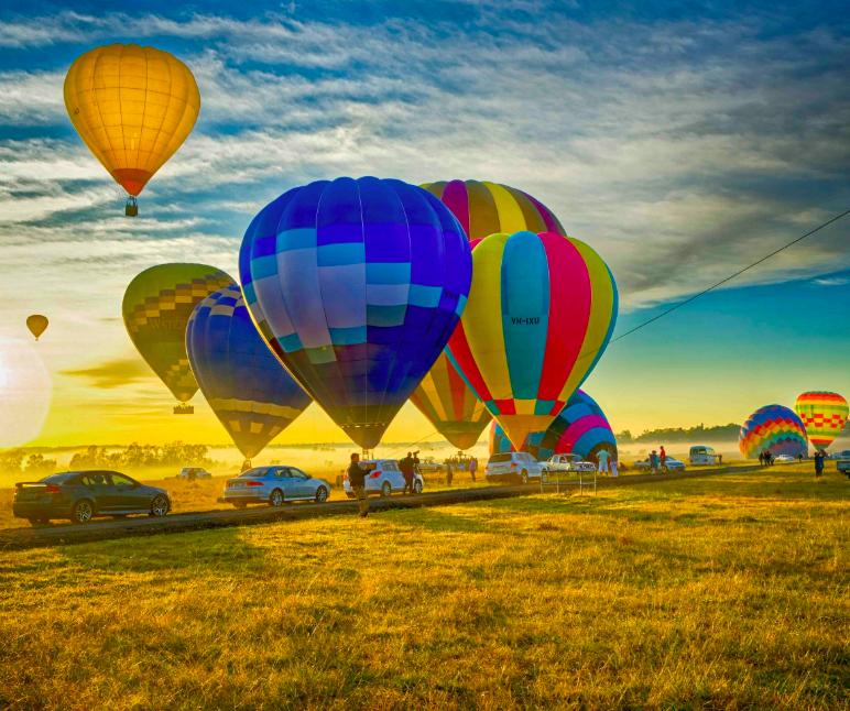 Ảnh chụp Màn hình 2018 09 08 lúc 01.04.37 - Balloon Aloft: Lễ hội khinh khí cầu ở Thung lũng Hunter Valley