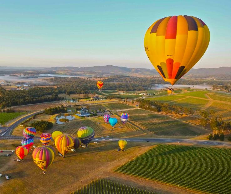 Ảnh chụp Màn hình 2018 09 08 lúc 01.04.55 - Balloon Aloft: Lễ hội khinh khí cầu ở Thung lũng Hunter Valley