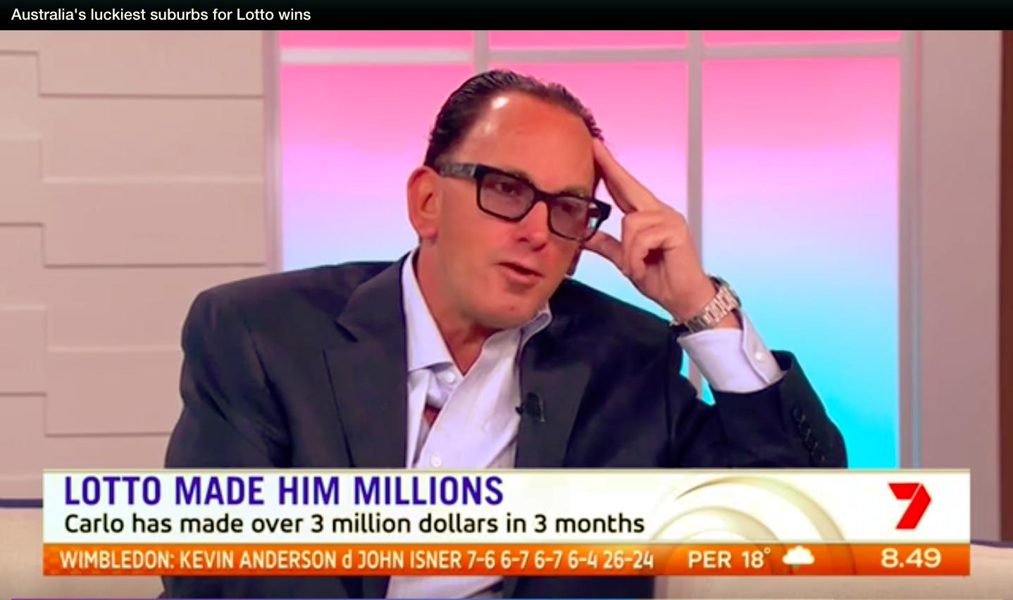Người đàn ông may mắn trúng Giải nhất sổ xố lần 2 trị giá 4.1 triệu đô2 - Người đàn ông may mắn trúng sổ xố lần 2 trị giá $4.1 triệu đô Úc