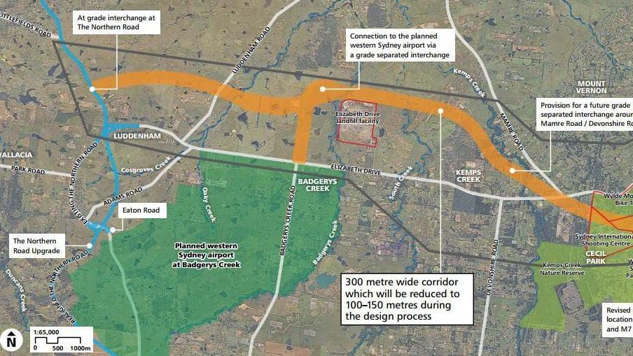 m12 motorway sydney1 - Miễn thu phí cầu đường cao tốc M12 đến sân bay Sydney mới