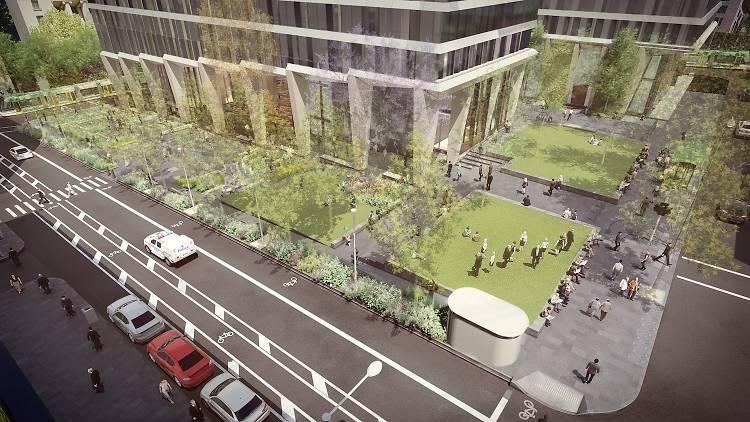 new park Melbourne CBD