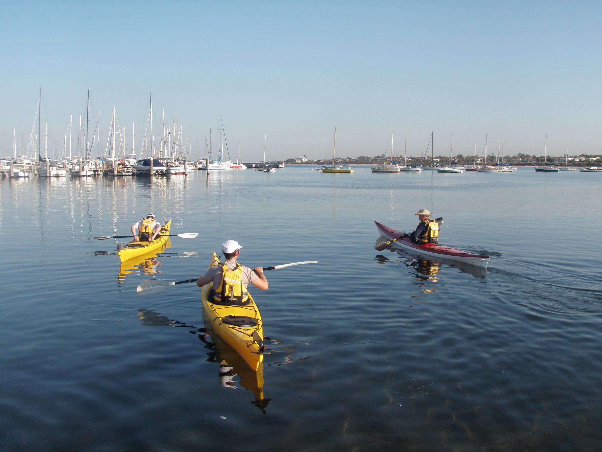 Explore Melbourne by kayak