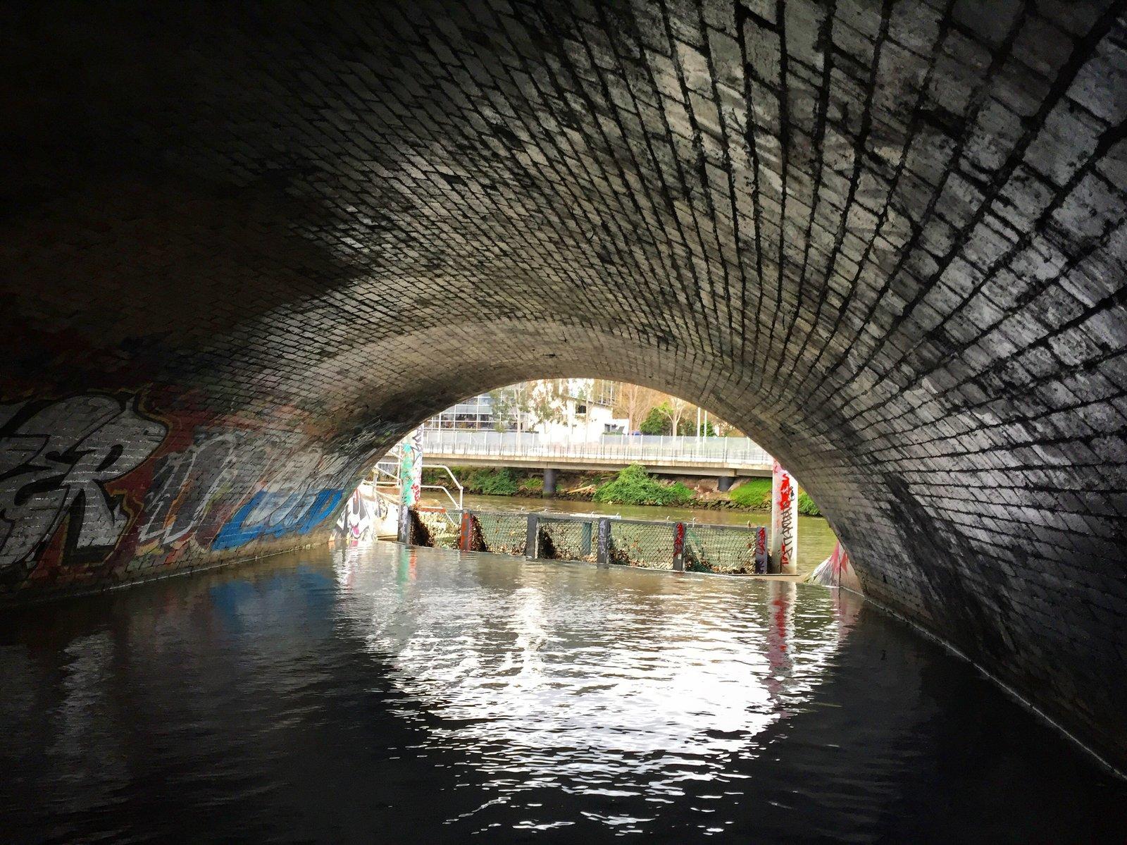 Melbourne storm tunnels