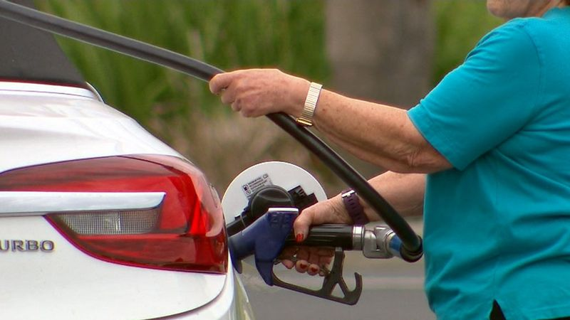 Petrol prices spike