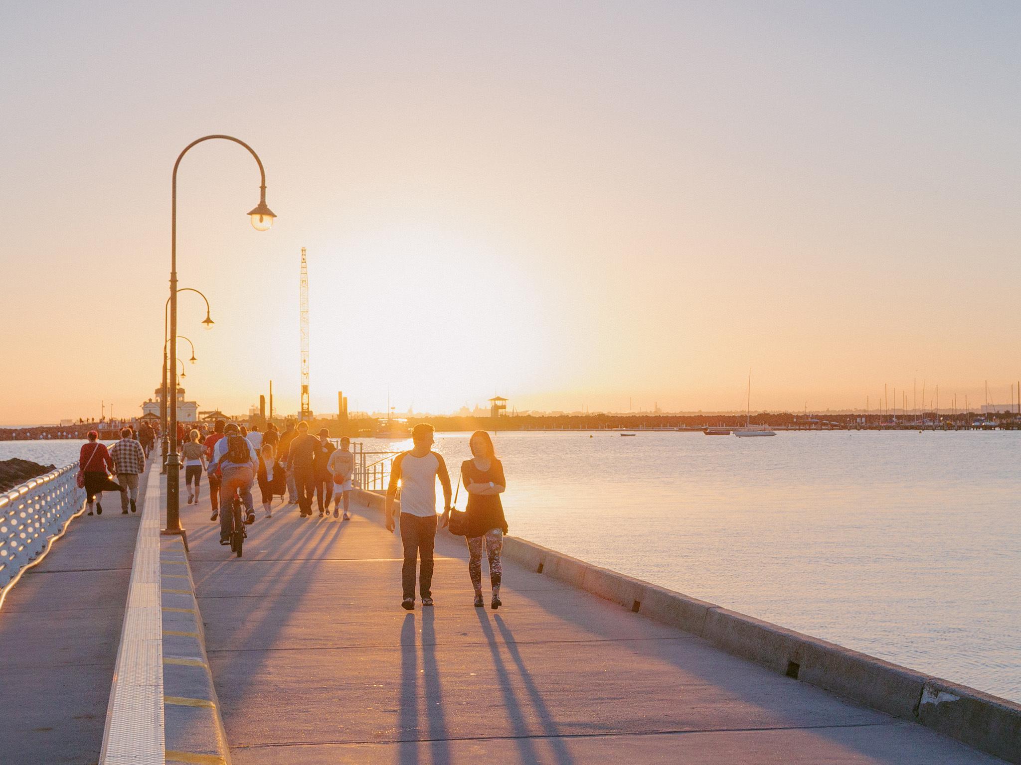 city walks melbourne