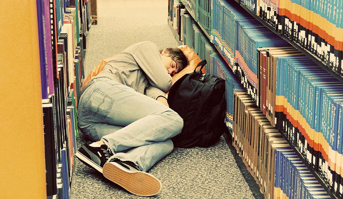 overstressed international students
